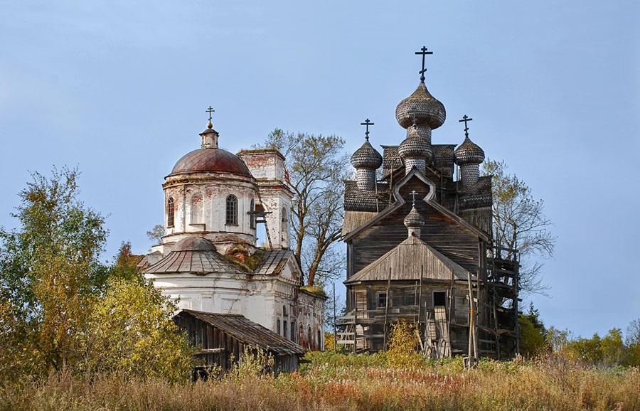 Церквm в Палтоге, Вологодская область (бывшая деревня Акуловы)