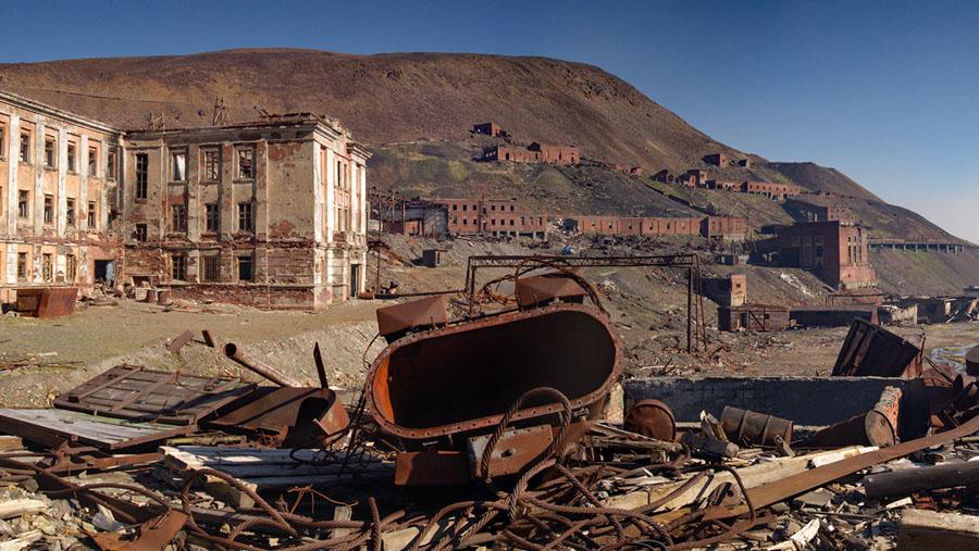 Рудник «Угольный ручей» недалеко от Норильска
