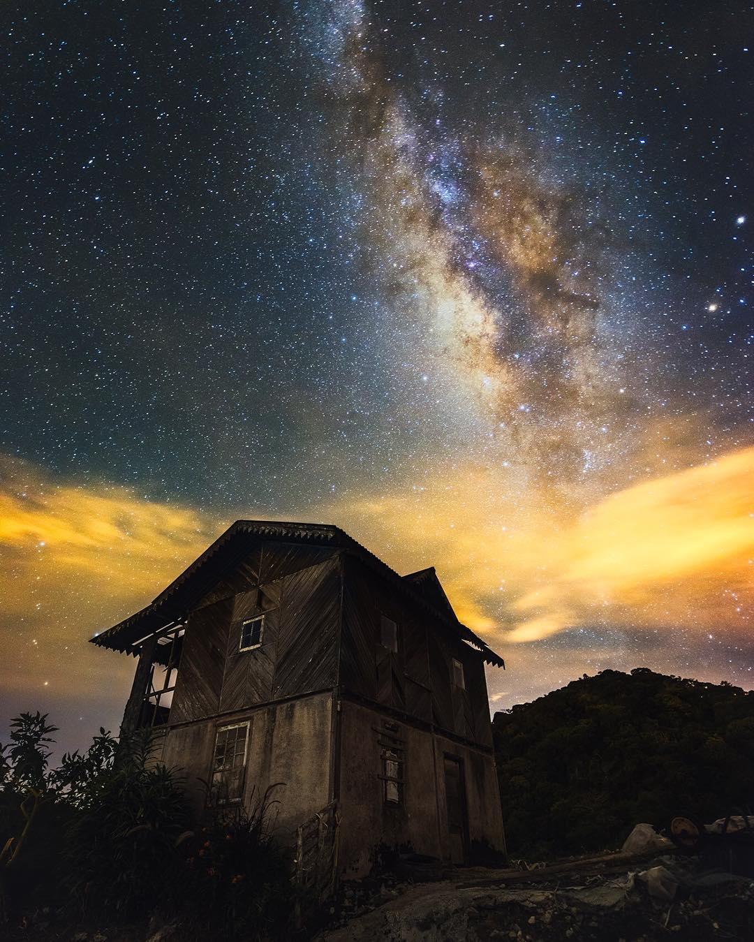 Захватывающие фотографии звездного неба