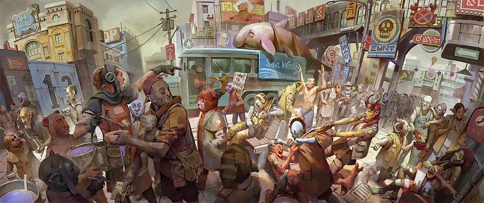 Превосходные иллюстрации и концепт-арт Джона Нугрохо