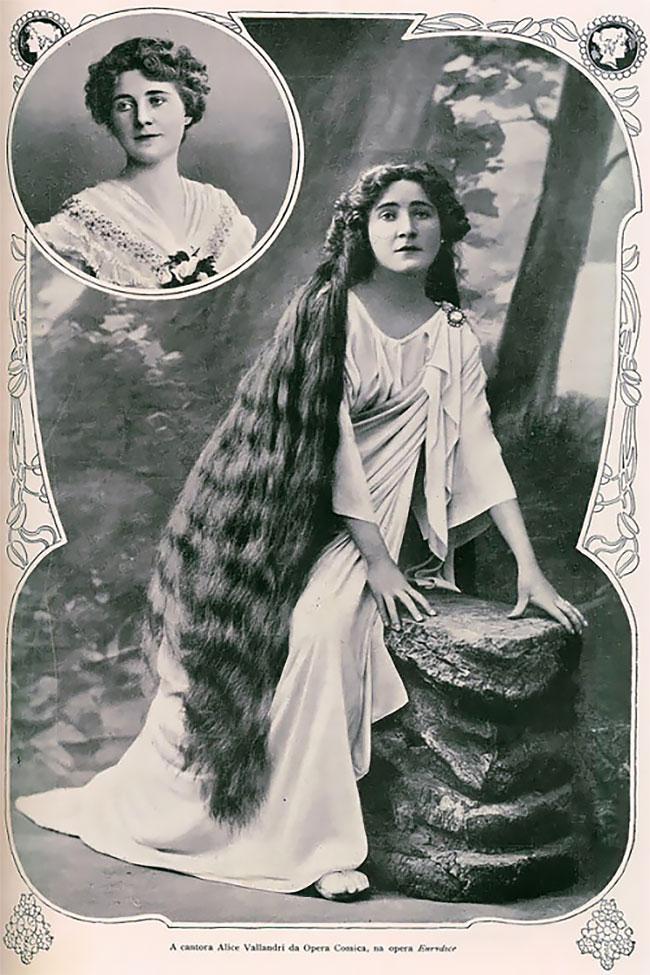 Как выглядели девушки с длинными волосами в викторианскую эпоху