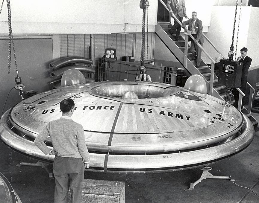Как американцы строили летающие тарелки