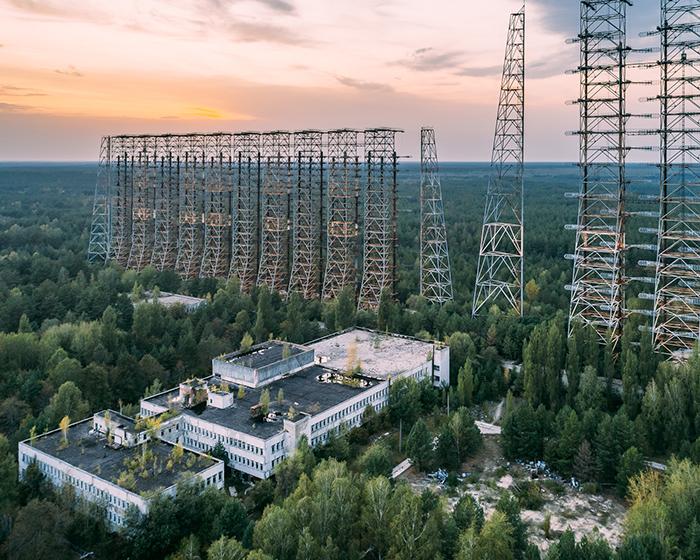 Природа в Зоне отчуждения вокруг Чернобыля