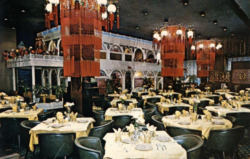 Рестораны Нью-Йорка в 1950-60х годах