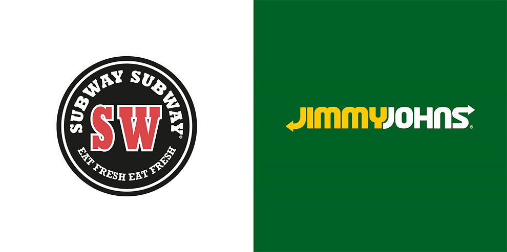 10 фотографий которые смешивают логотипы конкурирующих мировых брендов