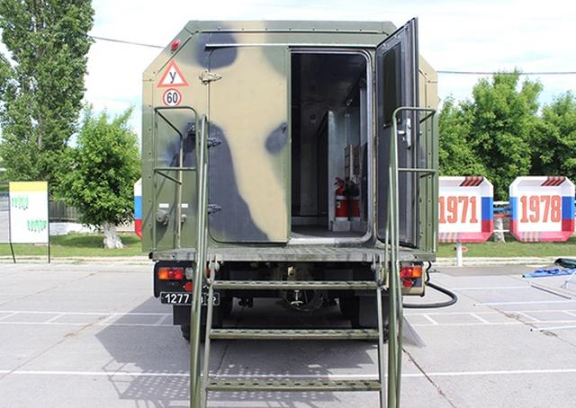 Новая передвижная полевая баня ППБ-32
