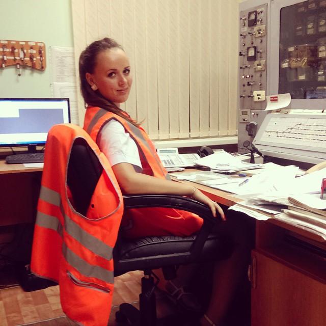 Девушки работающие в РЖД