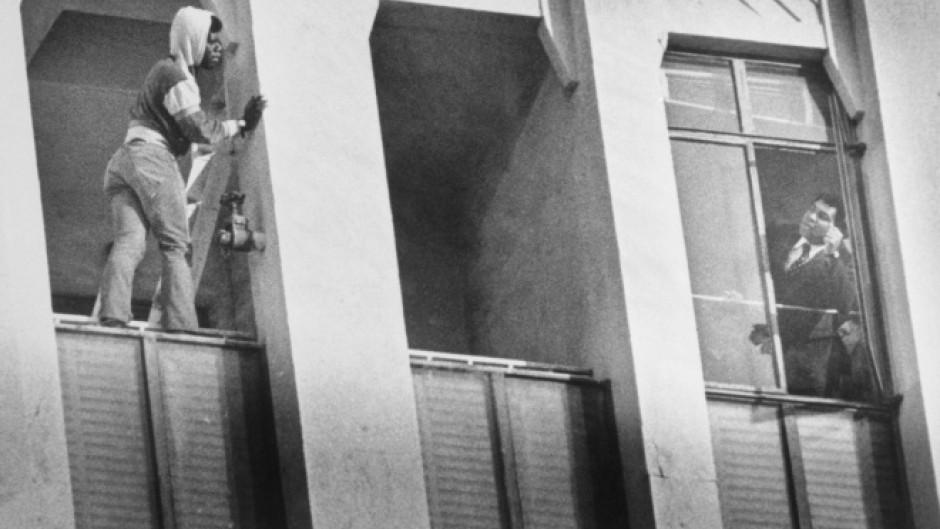 Когда Мухаммед Али остановил мужчину от прыжка с балкона в Лос-Анджелесе, 1981