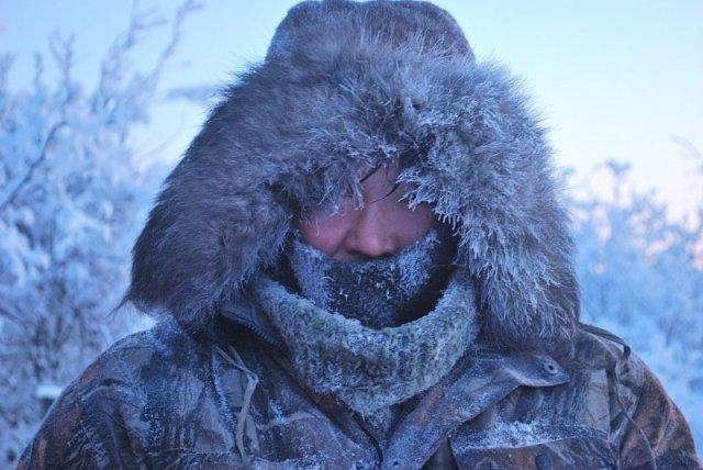 Оймякон - одно из самых холодных населенных мест на Земле