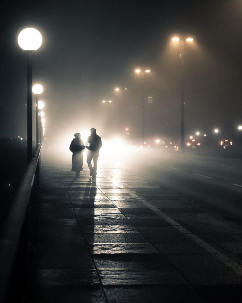 Кинематографические городские пейзажи Кевина Хуфнагла
