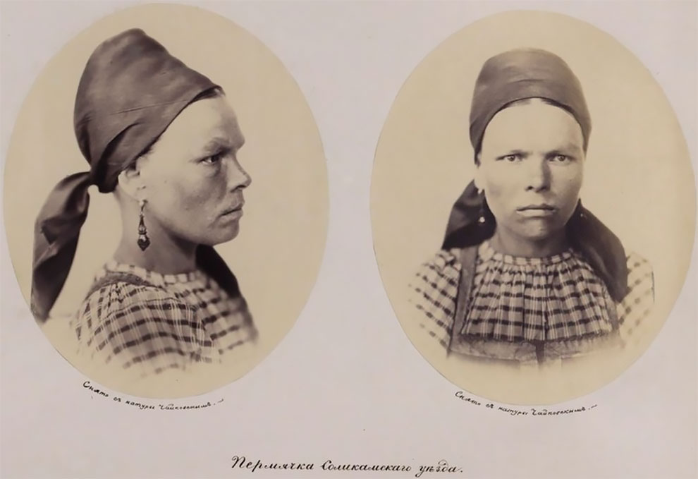 Уникальные портреты русских в 1868 году