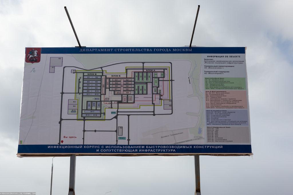Глобальное строительство больницы для больных с коронавирусом