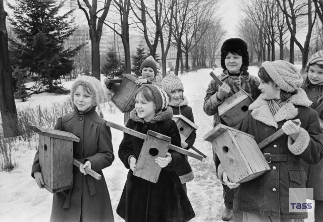 Жизнь Советских людей в фотографиях