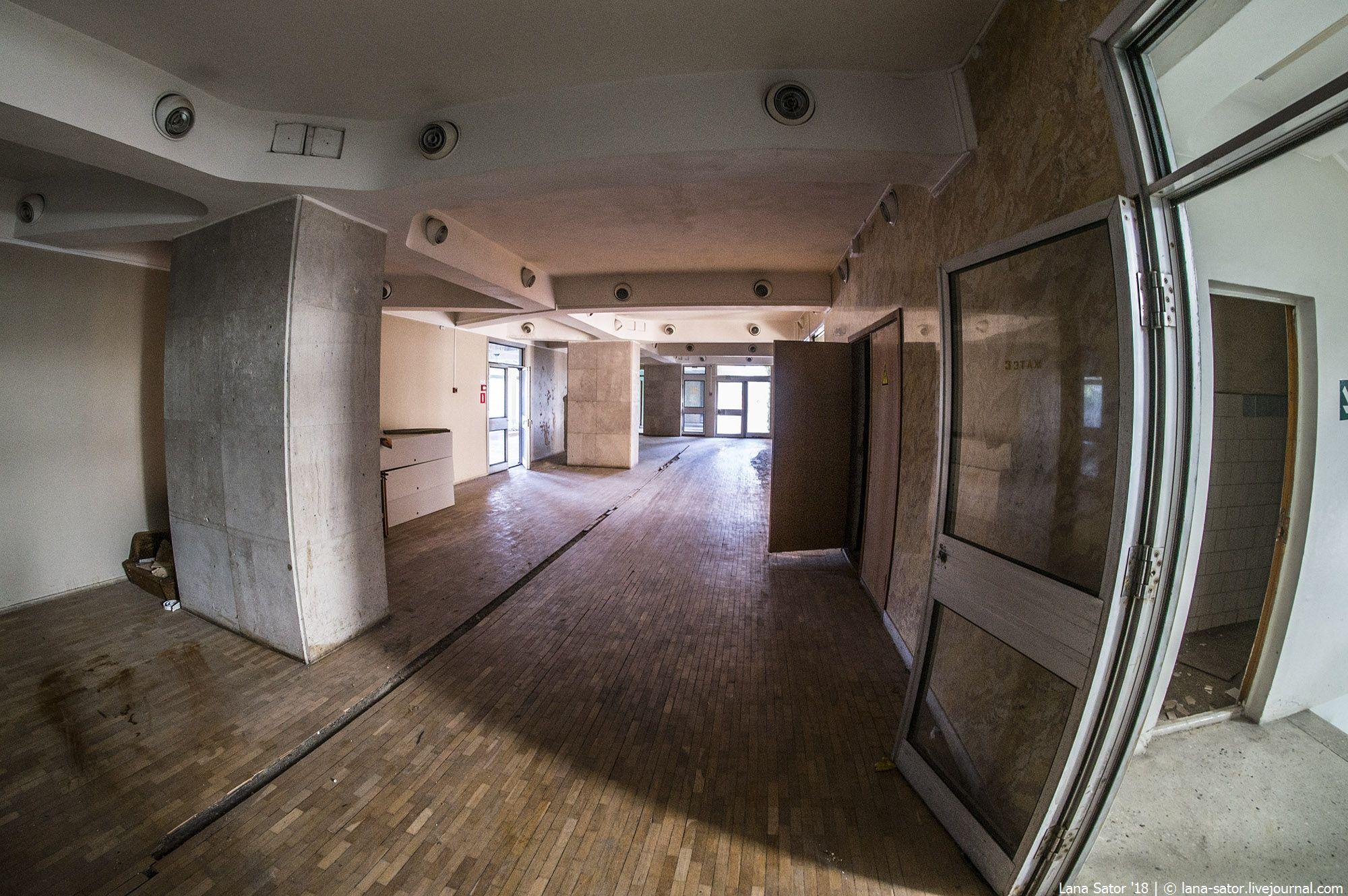 """Заброшенный санаторий МВД """"Приморье"""" в Сочи"""