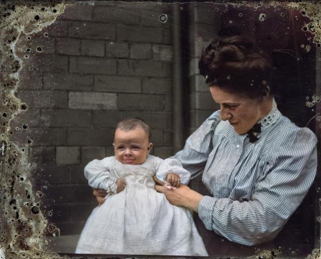 Жизнь во времена Соединённого Королевства в ярких цветных фотографиях
