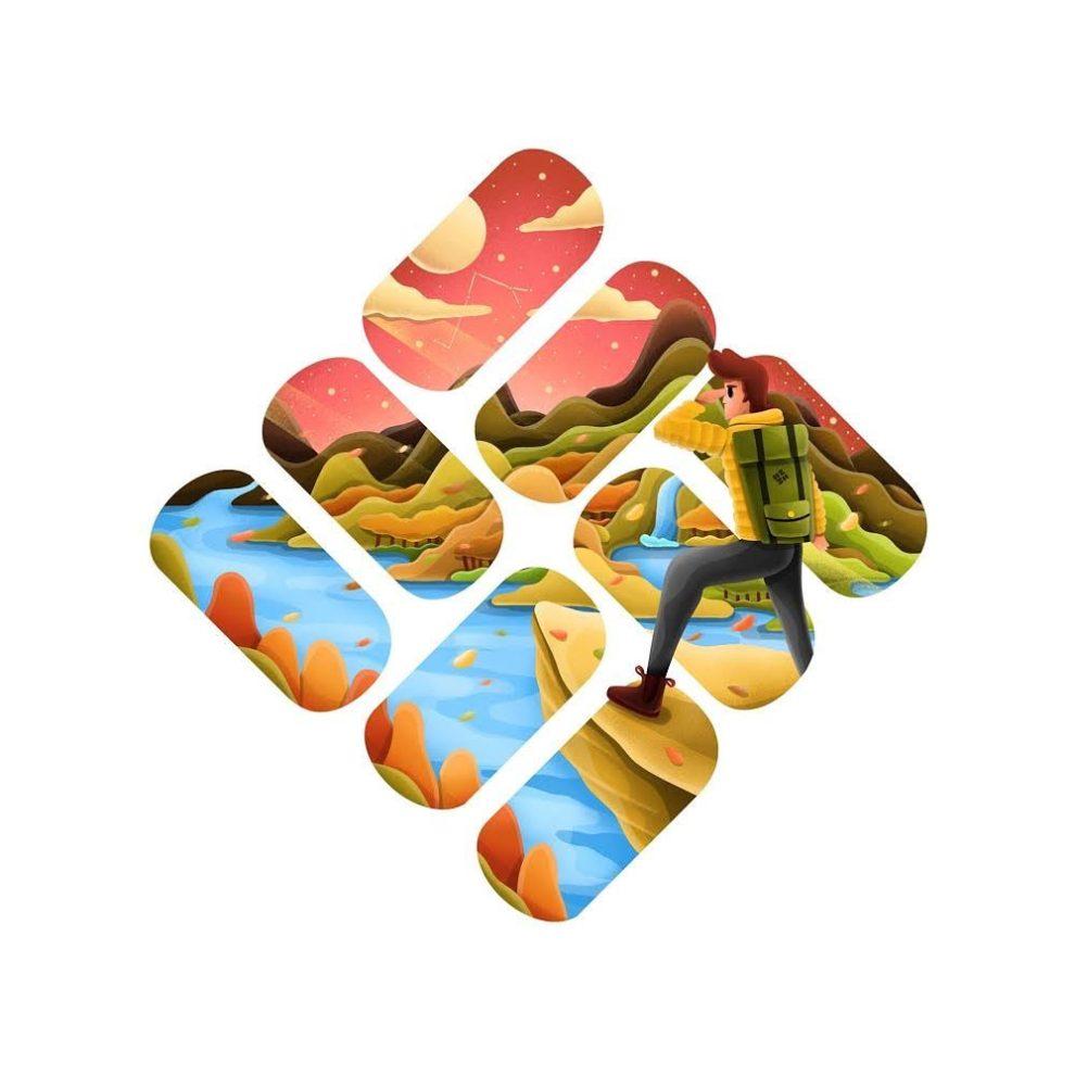 Канадский художник Дэвид Хьюн использовал логотипы известных компаний, чтобы изобразить собственное видение этих компаний