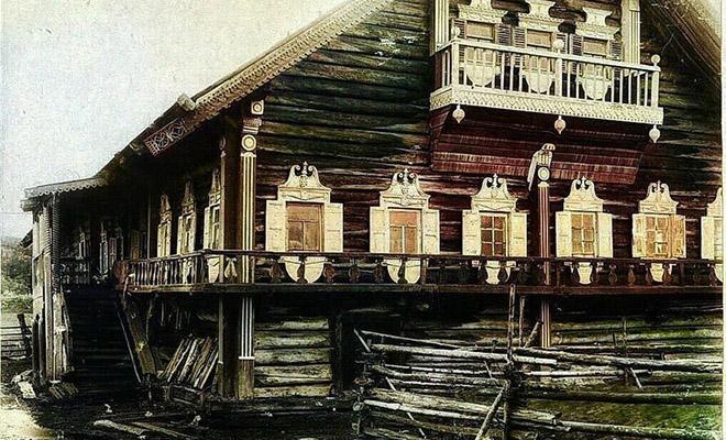 Огромные избы крестьян Севера: жилье в несколько этажей